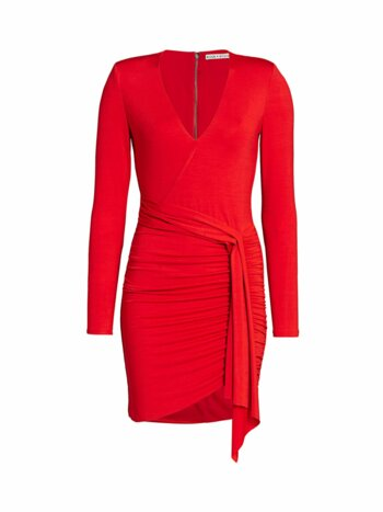 Kyra Ruched Bodycon Dress