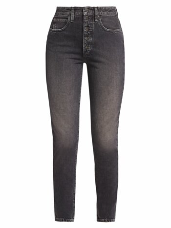 The Danielle High-Rise Straight Jeans