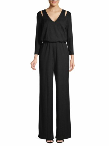 Wide-Leg Blouson Jumpsuit