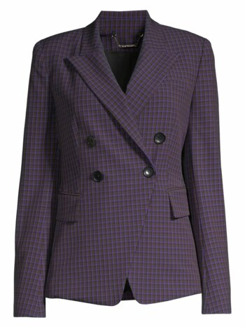 Jezebel Double Breasted Check Jacket