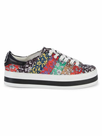 Emmalyn Floral Stripe Sneakers