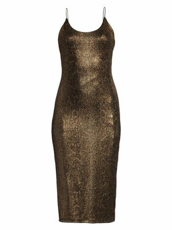 Delora Glitter Midi Dress
