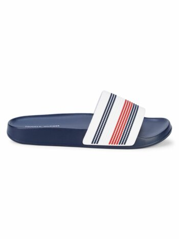 Beach Striped Slides