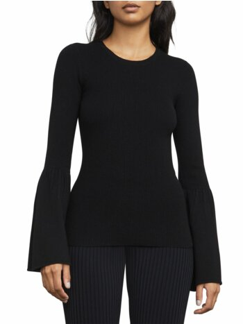 Bell-Sleeve Top