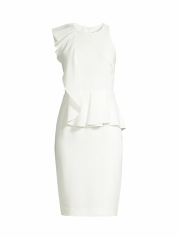 Felicia Ruffle Sheath Dress
