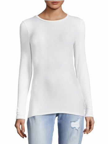 Long Sleeve Roundneck Top
