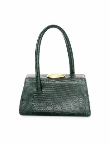 Baby Boss Lizard-Embossed Leather Bag