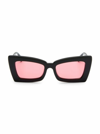 Zaap! 53MM Cat Eye Sunglasses