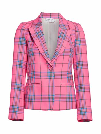 Waverly Plaid Blazer