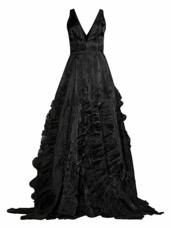 Jane Ruffle Gown