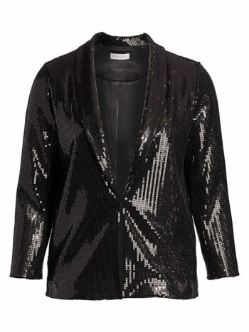 Classic-Fit Sequin Jacket