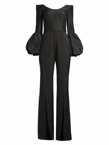 Katherine Off-The-Shoulder Puff Sleeve Jumpsuit