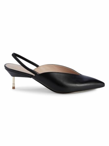 Battersea Leather Slingbacks