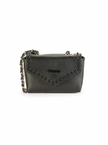 Francine Studded Leather Crossbody Bag