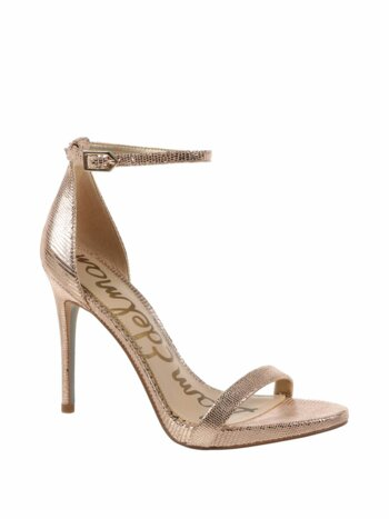 Ariella Metallic Leather Dress Sandals