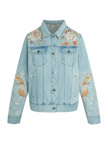 Marlie Embroidered Denim Jacket