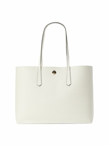 Large Molly Cabana Dot Pop Leather Tote
