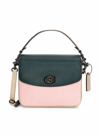 Cassie Colorblock Leather Crossbody Bag