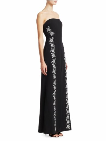 Eva Embroidered Gown