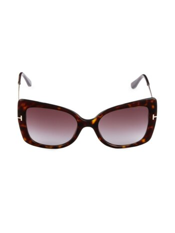 54MM Butterfly Sunglasses