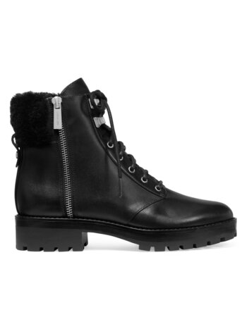 Rosario Side Zip Leather Boots