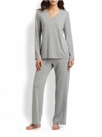 Champagne Long-Sleeve Pajamas