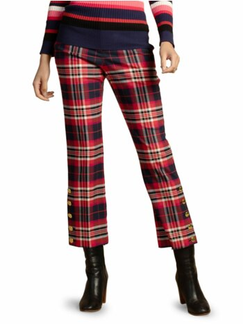 Pass the Wine Plaid Pants
