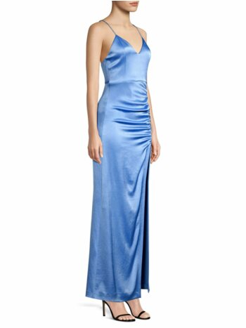 Diana Slit A-Line Gown