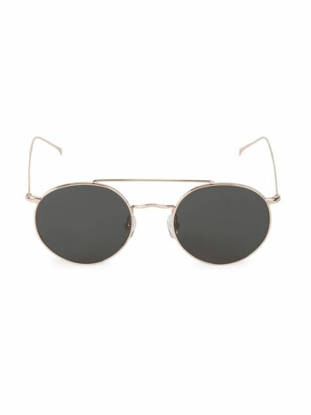 Allen M 51MM Round Sunglasses