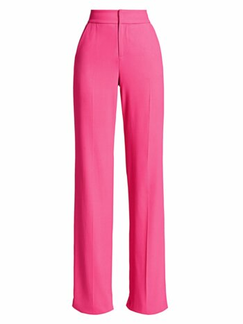 Dyan High-Waist Wide-Leg Pants