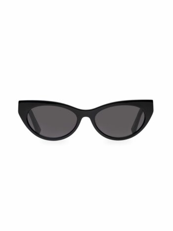 Bunny Hop 53MM Cat Eye Sunglasses