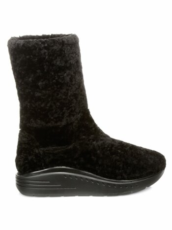 Murial Shearling Leather Boots