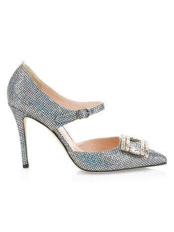 Trinity Embellished Buckle Pumps