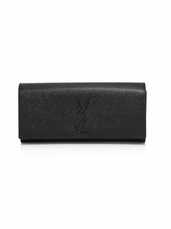 Kate Monogram Leather Clutch