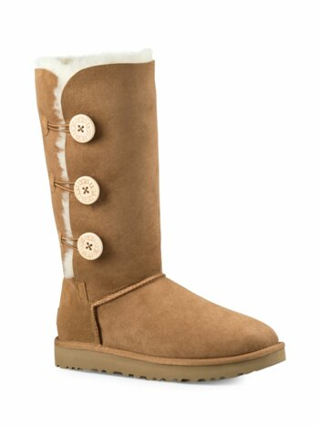 Bailey Button Triplet II Sheepskin, Suede & UGGpure Boots