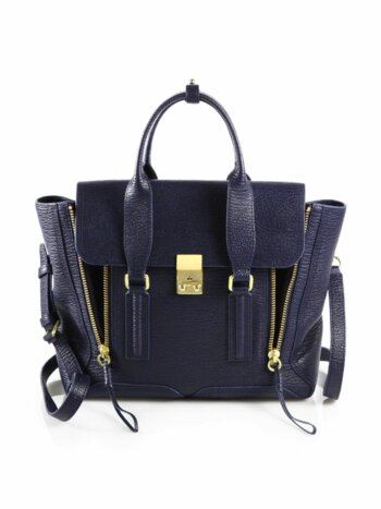 Medium Pashli Leather Satchel