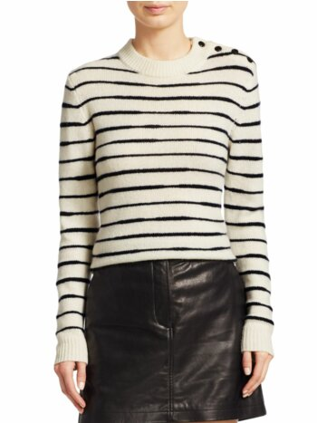 Sam Striped Wool Sweater