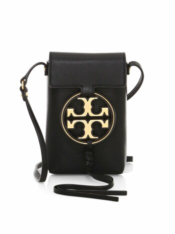 Miller Metal Leather Crossbody Phone Case