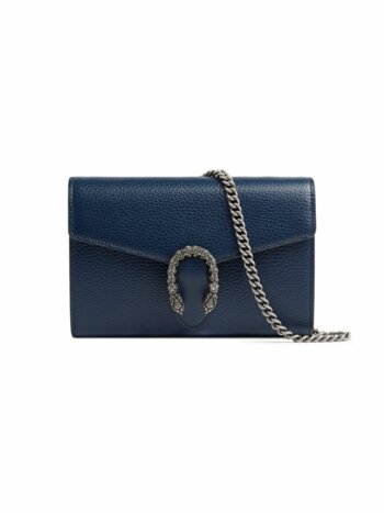 Dionysus Mini Leather Chain Wallet