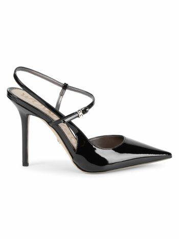 Ayla Patent Open-Back Pumps