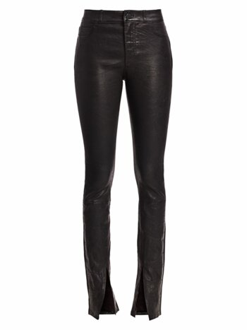 Constance Leather Skinny Pants