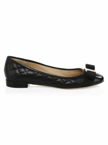 Varinaq Leather Ballet Flat
