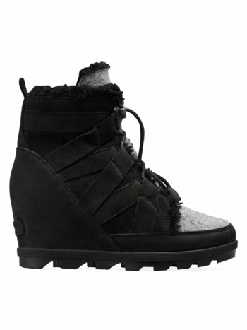 Joan of Arctic II Shearling-Lined Wedge Boots