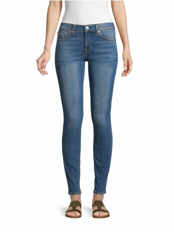 Gwenevere Squiggle Skinny Jeans