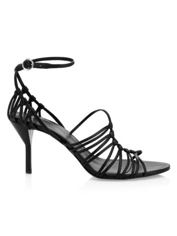 Lilly Strappy Leather Ankle-Strap Sandals