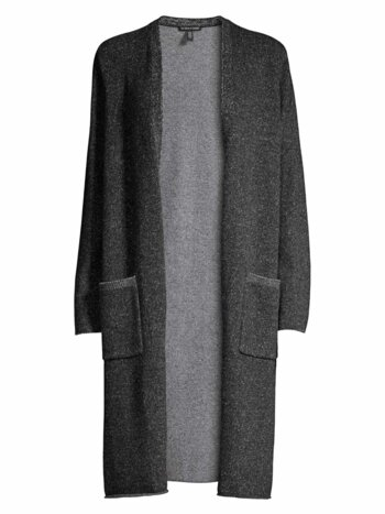 Recycled Cashmere-Blend Duster