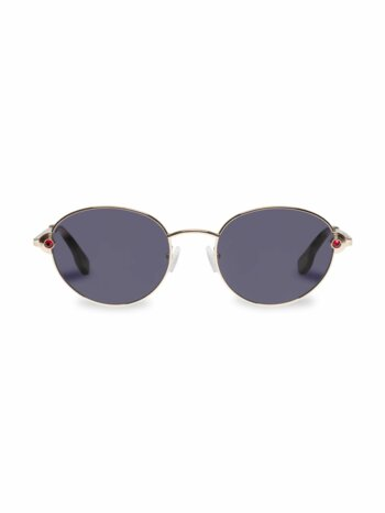 Vamp 53MM Round Sunglasses