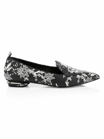 Beya Printed Leather Loafers