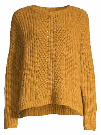 Chunky Cashmere-Blend Knit Sweater