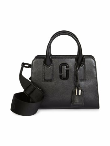Little Big Shot DTM Coated Leather Satchel